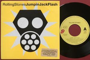 ROLLING STONES - Jumpin Jack Flash / Tumbling dice Holland PS 1991