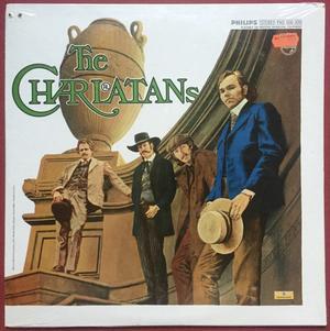 "CHARLATANS - ""same"" US-orig LP 1969 OÖPPNAD!"