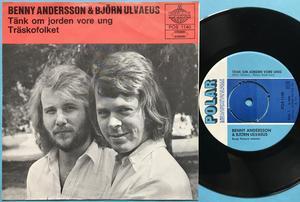BJÖRN & BENNY (ABBA) - Tänk om jorden vore ung RÖD Swe PS 1971