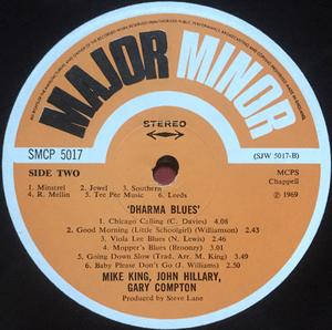 "DHARMA BLUES BAND - ""same"" UK-orig LP 1969"