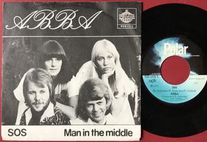 ABBA - SOS Norsk PS 1975