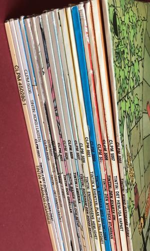 TINTIN - Rackham den rödes skatt Swe LP 1974