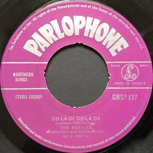 "BEATLES - Ob-la-di ob-la da Greek orig 7"" 1968"