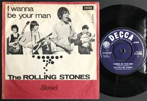 ROLLING STONES - I wanna be your man Danish PS 1963