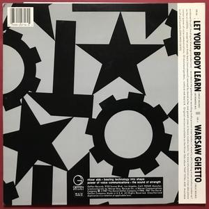 "NITZER EBB - Let your body learn US-orig SIGNERAD 12"" 1987"
