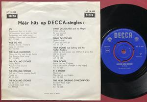 ROLLING STONES - Empty heart Dutch PS 1964