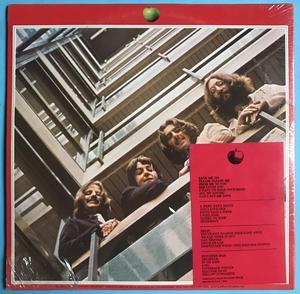 BEATLES - 1962-66 US-orig LP 1973 OÖPPNAD!