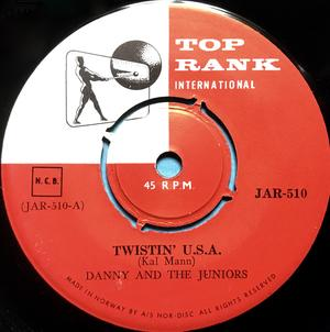 DANNY & THE JUNIORS - Twistin´ USA Swe 45 1960