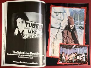 ZAPPA Peter Gabriel BOOMTOWN Rockpile TUBES - Knebworth konsertprogram 1978
