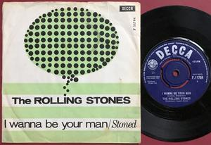 ROLLING STONES - I wanna be your man Danish AS 1963