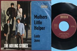 "ROLLING STONES - Mothers little helper Ger ""Treppen"" PS 1966"