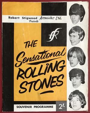 ROLLING STONES - 1964 UK tour program