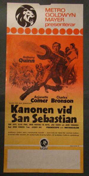 KANONEN VID SAN SEBASTIAN (CHARLES BRONSON, ANTHONY QUINN)