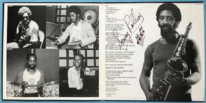 SONNY ROLLINS - The way I feel US-orig SIGNERAD LP 1977