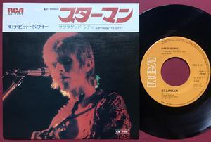 DAVID BOWIE - Starman Japan PS 1972