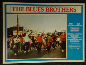 THE BLUES BROTHERS (1980) Lobby kort
