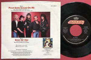 "DEF LEPPARD -  SIGNERAD 7"" 1987"