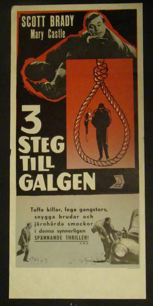 3 STEG TILL GALGEN (SCOTT BRADY, MARY CASTLE)