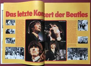 POP - Nr 17 1976 KISS omslag & POPSTICKERS