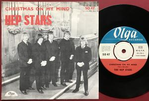 HEP STARS - Christmas on my mind Swe PS 1967