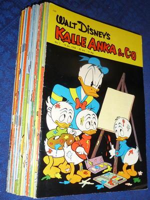 KALLE ANKA - 1958 hel årgång Nr 1-26