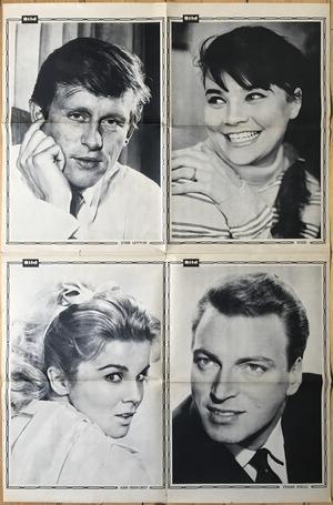 BILDJOURNALEN - nr 11 1964 klassiska BEATLES ELEFANTBILD