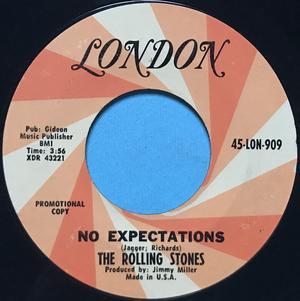 ROLLING STONES - Street fighting man USA PROMO 45 1968
