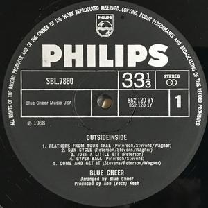 BLUE CHEER - Outside inside UK-orig LP 1968