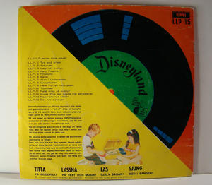 "ANNI-FRID LYNGSTAD (ABBA) sjunger ""Nu vissla vi ett tag"" 33 rpm 1971"