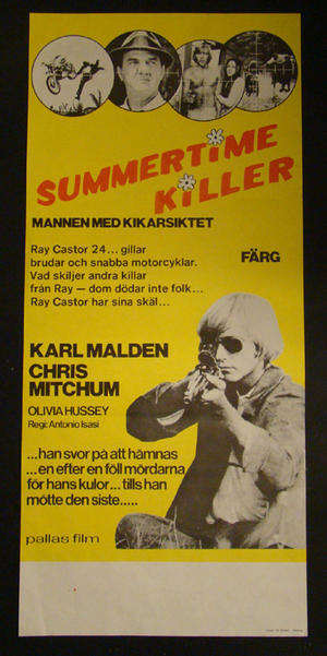 SUMMERTIME KILLER (KARL MALDEN, CHRIS MITCHUM, OLIVIA HUSSEY)