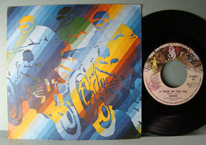 "GENESIS / Steve Hackett - A trick of the tail Italy 7"" 1976"
