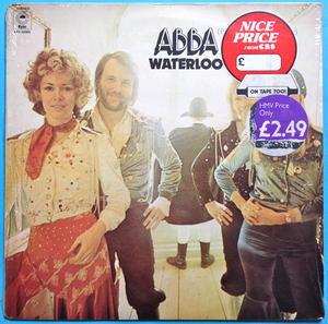 ABBA - Waterloo UK-orig STILL SEALED! LP 1974