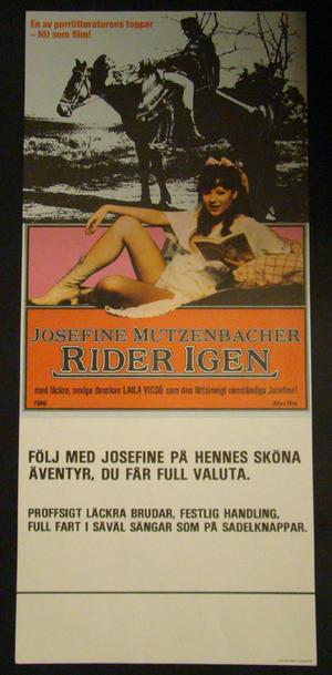JOSEFINE MUTZENBACHER - RIDES AGAIN