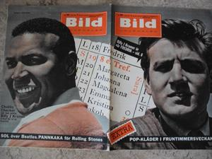 BILDJOURNALEN no 29 1964 Chubby Checker/ Billy J Kramer