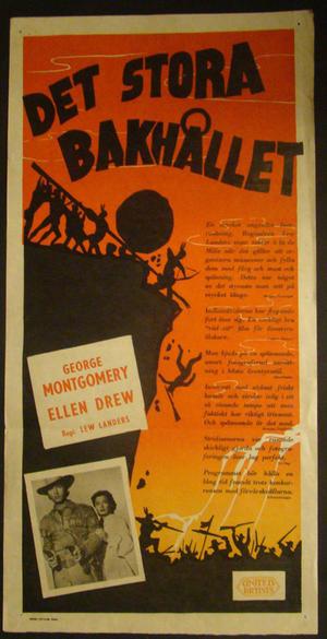 DET STORA BAKHÅLLET (GEORGE MONTGOMERY, ELLEN DREW)