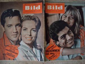 BILDJOURNALEN nr 31 1964 ELVIS / Paul Anka