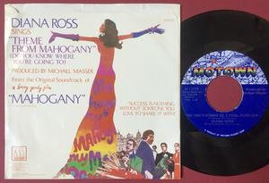 DIANA ROSS ( SUPREMES ) - Theme from Mahogany USA PS 1975 SIGNERAD!
