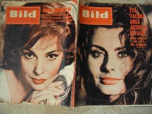 Bildjournalen nr 8 1962 Sophia Loren/Gina Lollobrigida