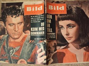 Bildjournalen nr13 1961 Liz Taylor/Cleopatra