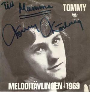 """Autograf - Körberg, Tommy - Judy min vän / 7"""""""