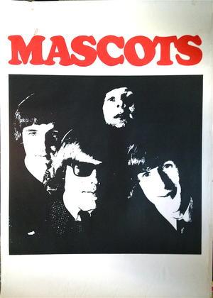 MASCOTS (1965) - Turneaffisch