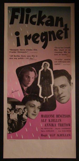FLICKAN I REGNET (MARIANNE BENGTSSON, ALF KJELLIN, ANNIKA TRETOW)