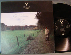 ULF LUNDELL - 12 songs - signed LP 1984