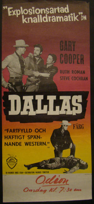 DALLAS (GARY COOPER, RUTH ROMAN, STEVE COCHRAN)