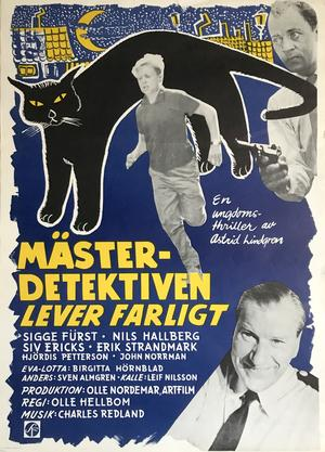 KALLE BLOMKVIST - MÄSTERDETEKTIVEN LEVER FARLIGT (1957)