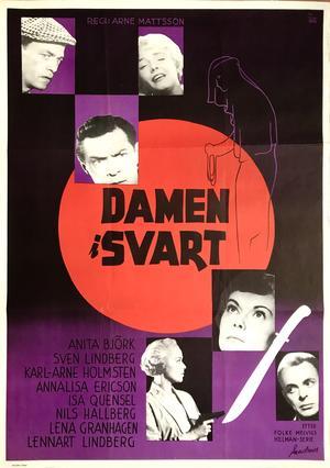 DAMEN I SVART (1958)