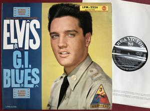 ELVIS PRESLEY - G.I. Blues Tysk LP 1960