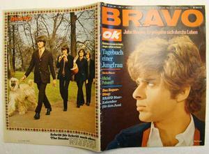 BRAVO no 23 1967 Kalender Michel Polnareff