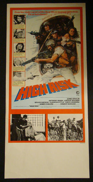 HIGH RISK (JAMES BROLIN, JAMES COBURN)