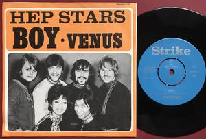 HEP STARS - Boy / Venus Swe PS 1969